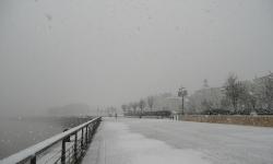 Snowy Bordeaux