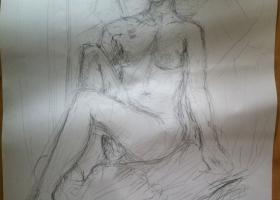 Life Drawing 12-08-2013 (b)