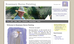 Rosemary Burns Painting